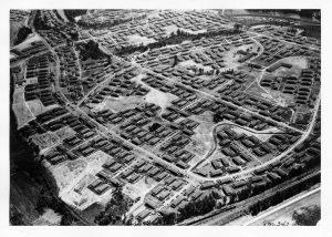 aerial view of Vanport