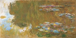 Monet's waterlily painting