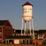 Photograph of a water tower in Longview WA.