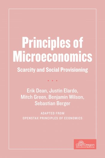 Cover image for Principles of Microeconomics: Scarcity and Social Provisioning
