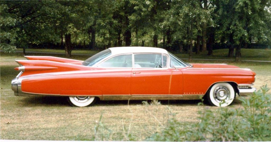 Photograph of a 1959 Cadillac Eldorado