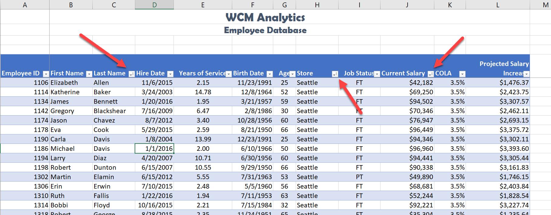 Custom List Sort Solution Screenshot