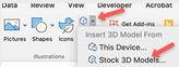 Mac 3D Model button