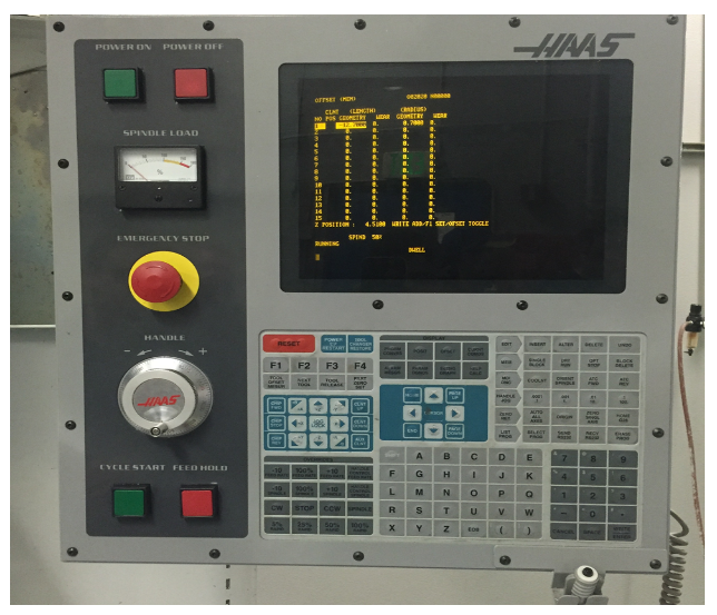 Unit 6: Haas Control – Manufacturing Processes 4-5 Haas Tool Setter Wiring Diagram on