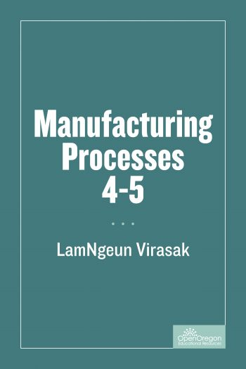 Cover image for Manufacturing Processes 4-5