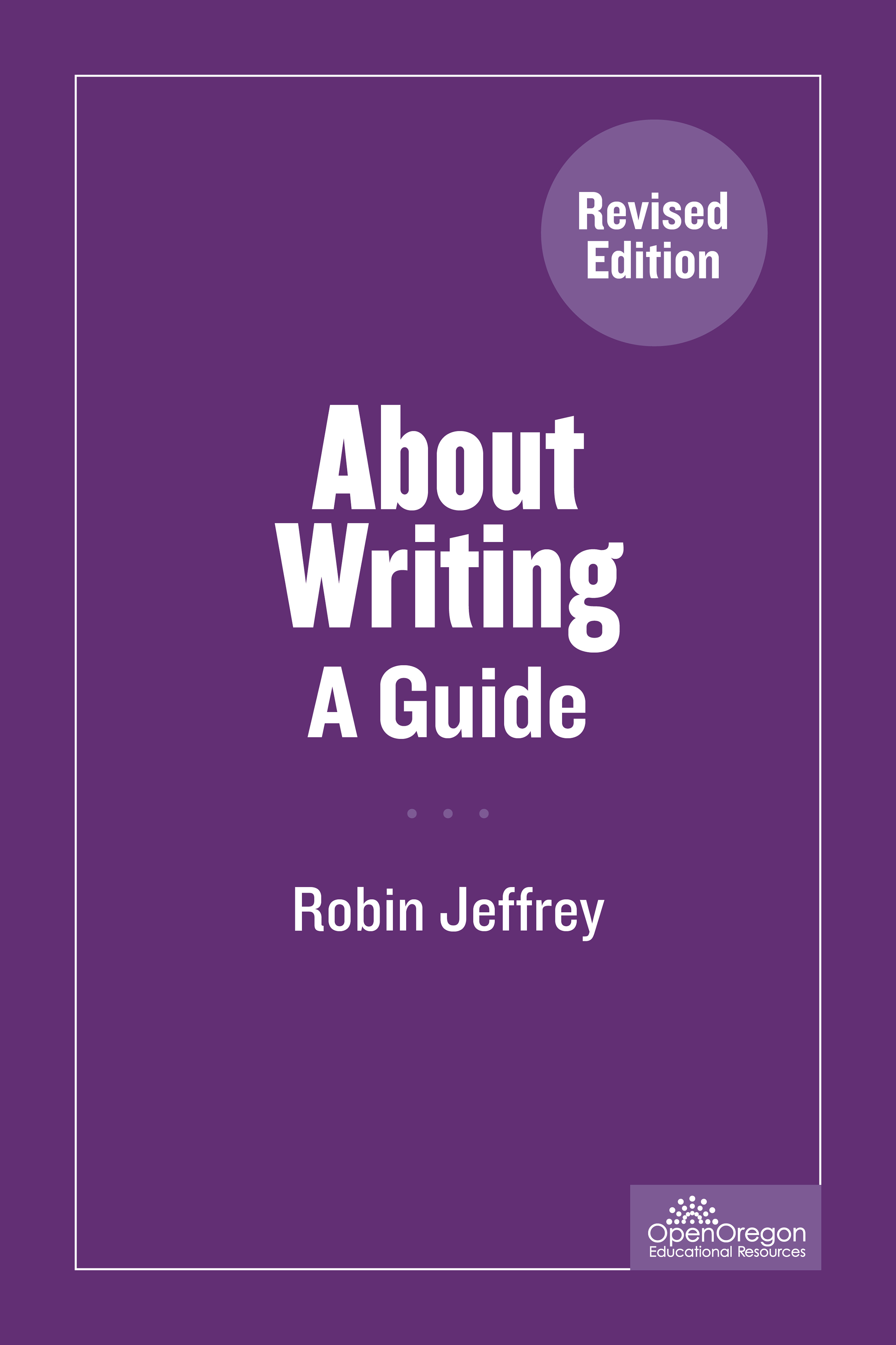 About Writing: A Guide
