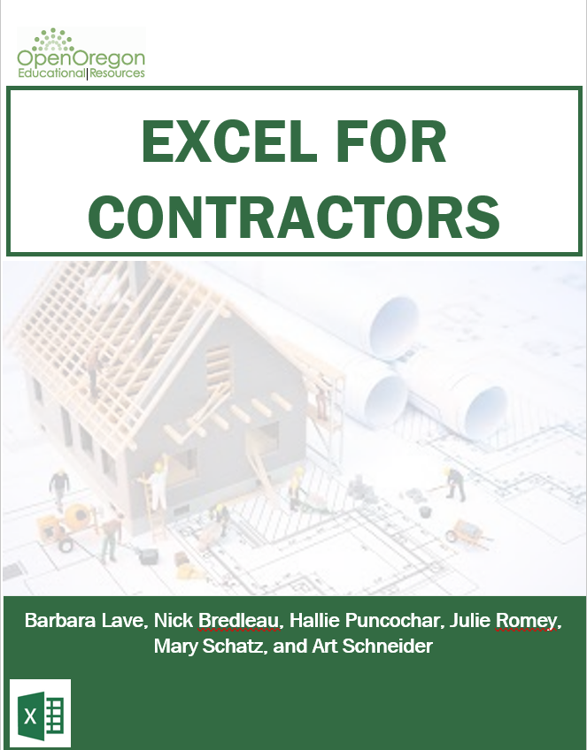 Cover image for Excel for Contractors