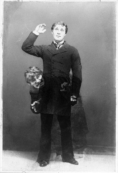 Henry Van der Weyde's image of Richard Mansfield as Dr. Jeckyll and Mr. Hyde