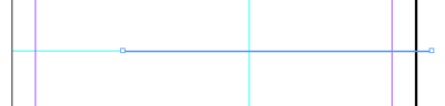 Screen capture showing a line being drawn using the Line Tool.
