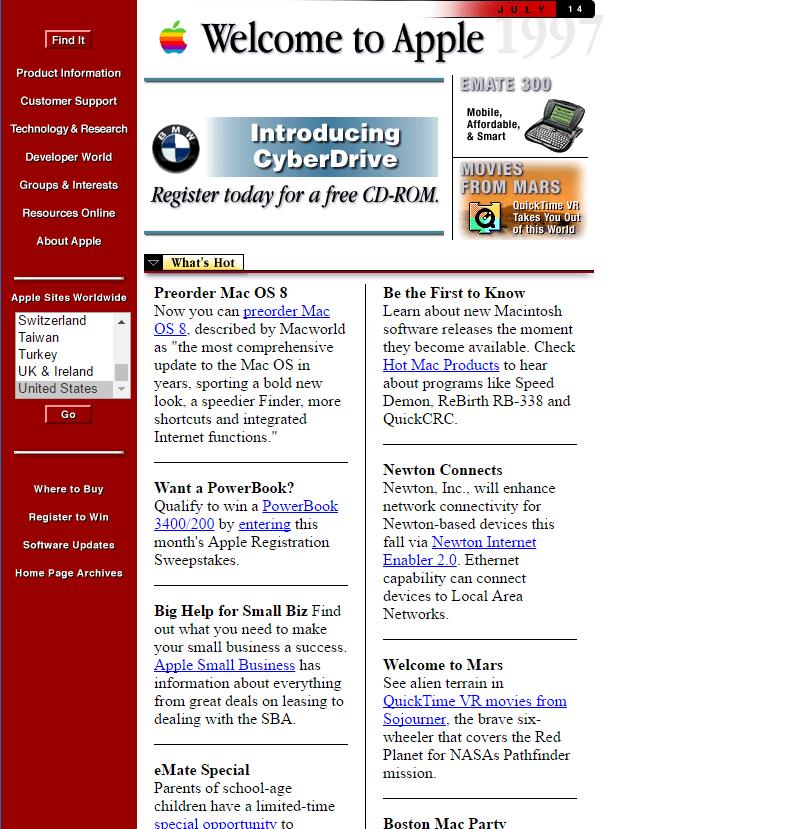 apple.com 1998