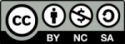 Creative Commons icon for BY-NC-SA license
