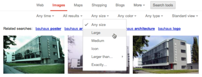 Refining your search with Google search tools