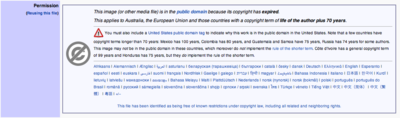Wikimedia image rights