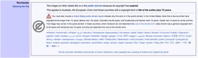Wikimedia image rights