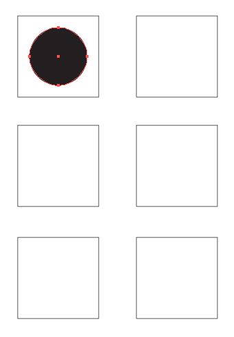 Image of black circle in square 1