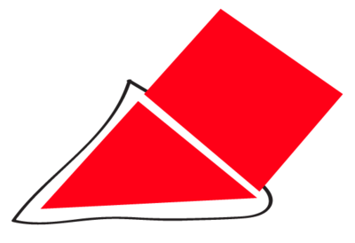 A parallelogram created with the Pen Tool