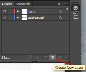 Create a New Layer from the Layers panel