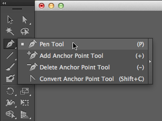 Location of the Pen Tool