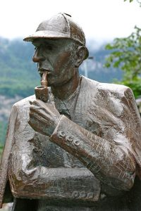 Sherlock Holmes Statue, photo by Juhanson