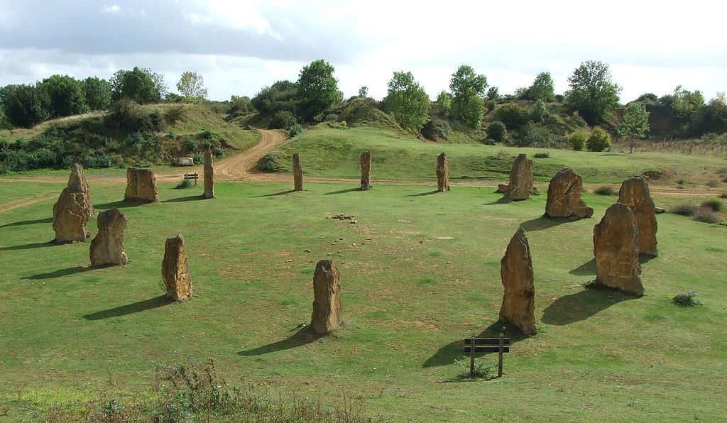 ham hill stone circle in england
