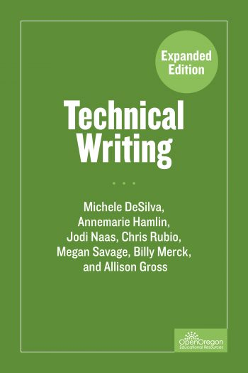 technical writing  u2013 simple book production