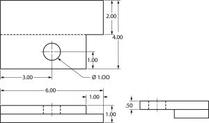 Dimensioning example.