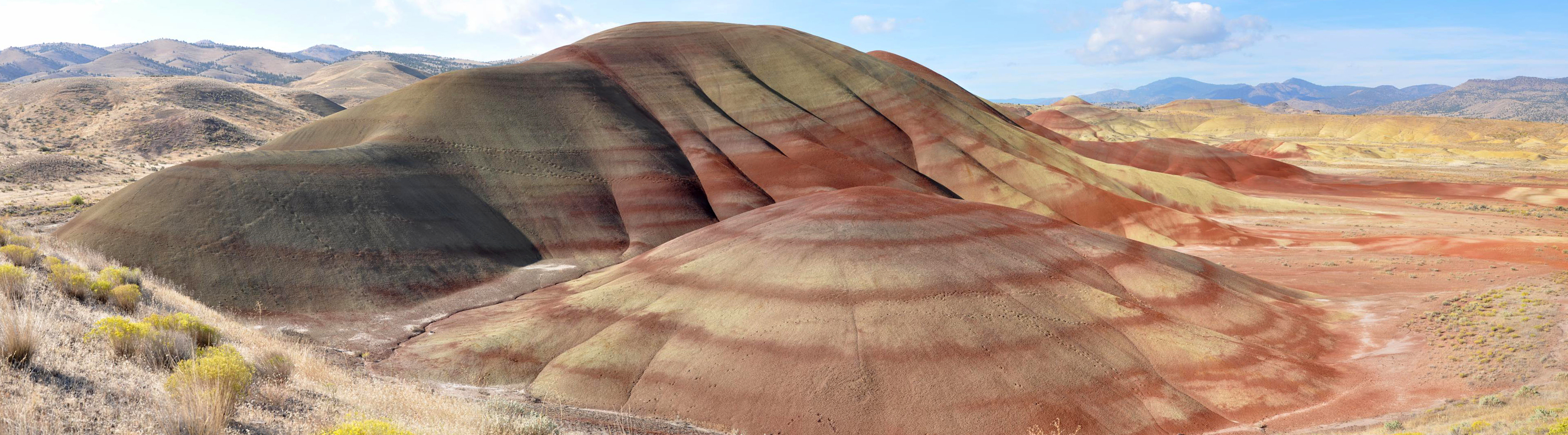 East Face Painted Hills Panorama