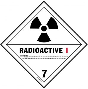 Sign that says Radioactive I