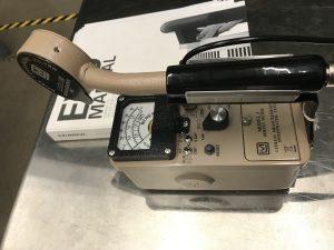 instrument sitting on desk
