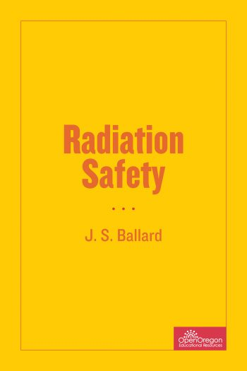 Cover image for Radiation Safety