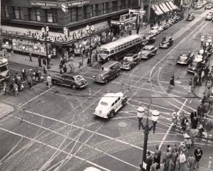 street scene in Portland