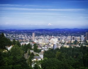 A view of Portland