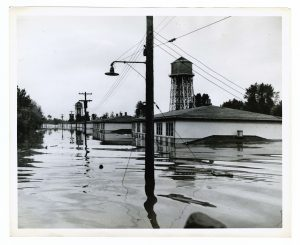 flooded houses in Vanport