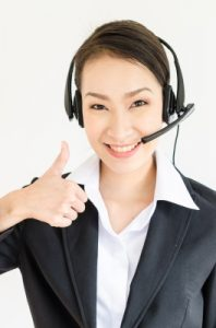 woman wearing headphones and microphone headset