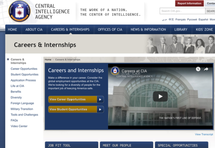 6 6  Recruitment and Hiring Websites for Future Careers – SOU-CCJ230