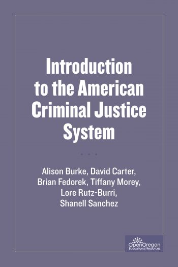 Cover image for SOU-CCJ230 Introduction to the American Criminal Justice System