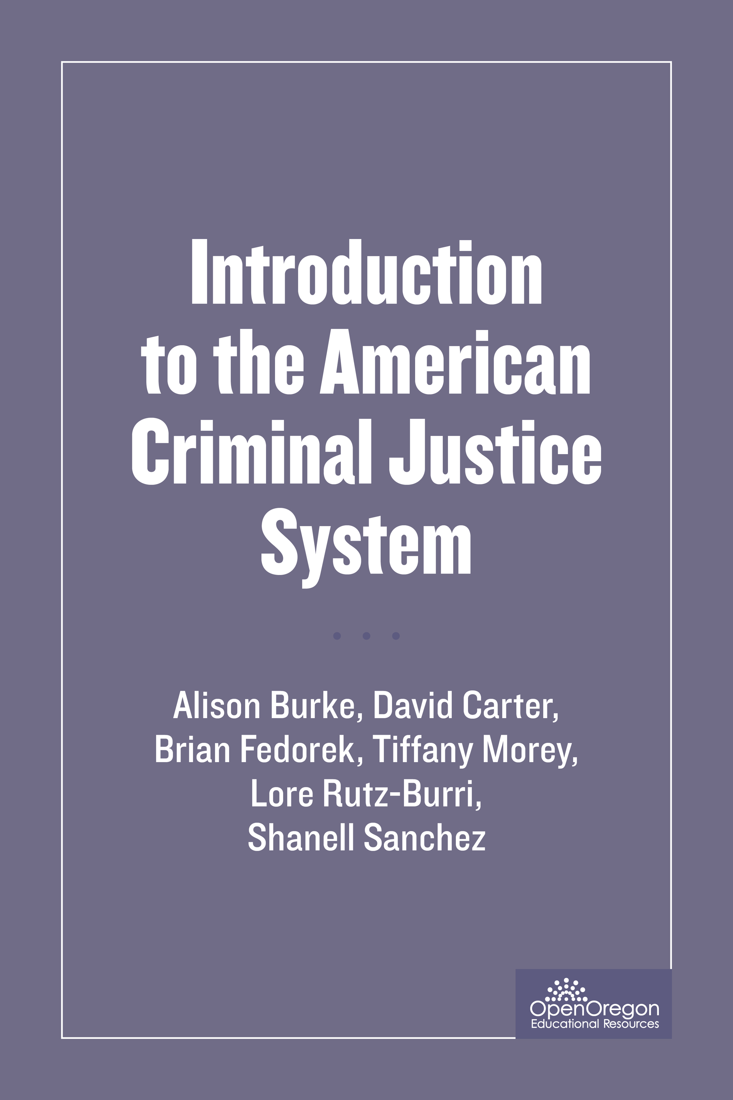SOU-CCJ230 Introduction to the American Criminal Justice System