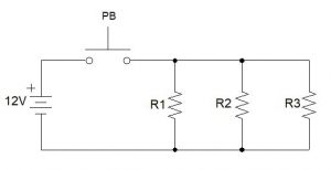 Parallel Circuit with Three resistors