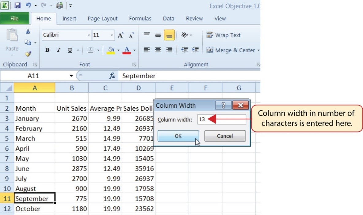 1 2 Entering, Editing, and Managing Data – Beginning Excel