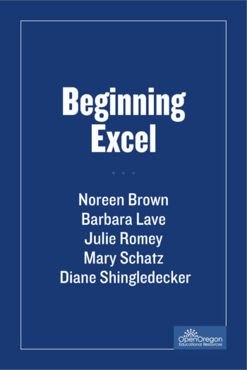 Cover image for Beginning Excel