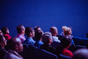 Photo of an audience