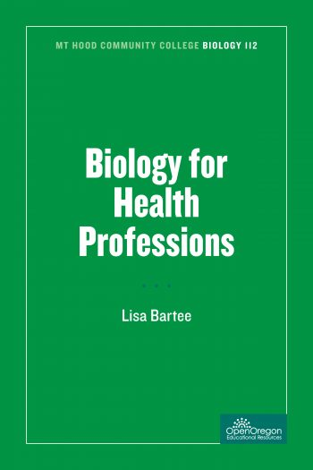 Cover image for MHCC Biology 112: Biology for Health Professions
