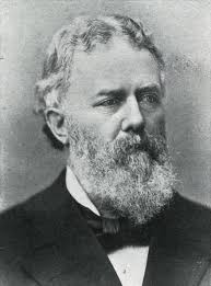 Black and white photograph of Matthew Deady