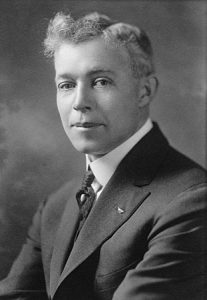 black and white photo of Fred Gifford