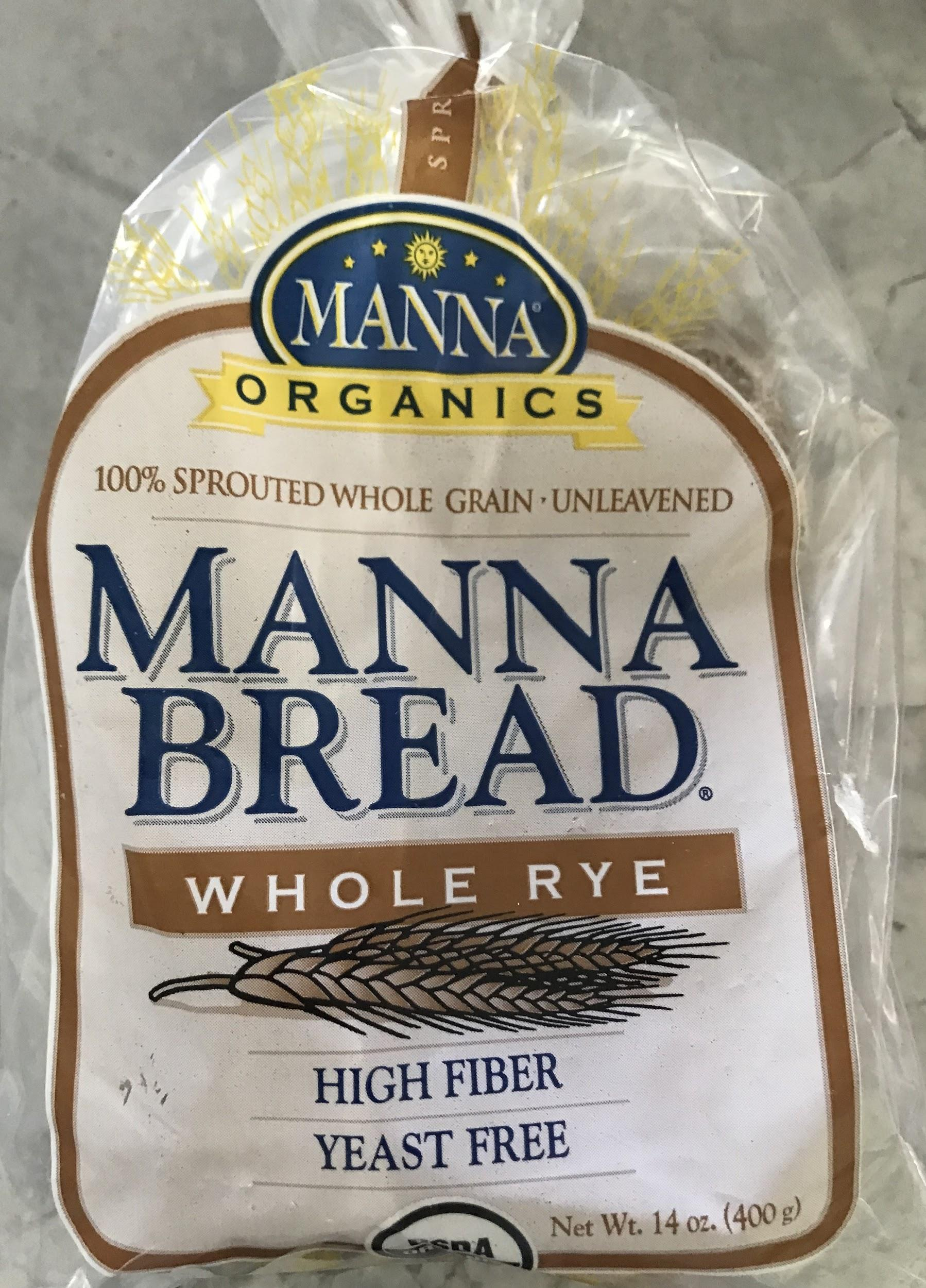 A picture of 100% sprouted whole grain-unleavened Manna Bread.